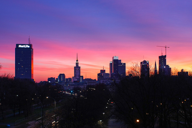 One weekend in Warsaw